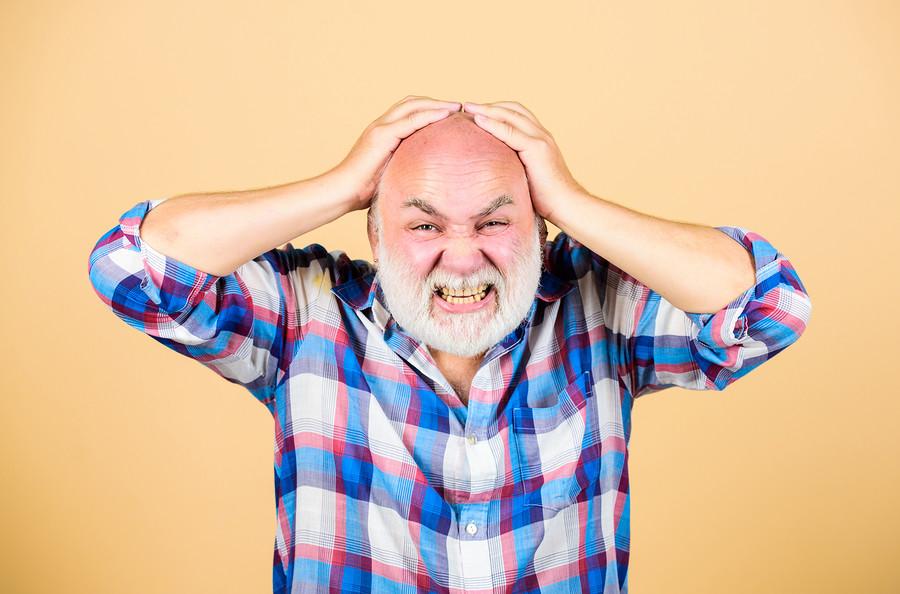 Selbstbewusstsein leidet durch Haarverlust?